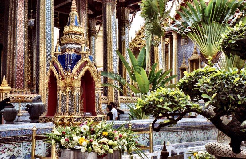 Beautiful Bangkok decoration and architecture