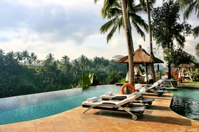 The Viceroy Bali hotel pool view