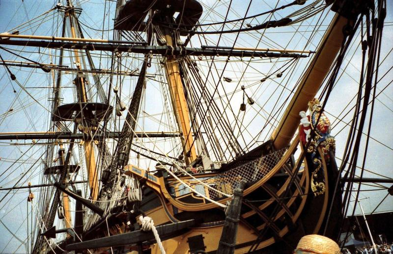 HMS Victory Portsmouth England