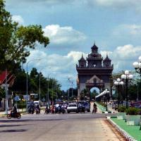Wandering in Vientiane, Laos