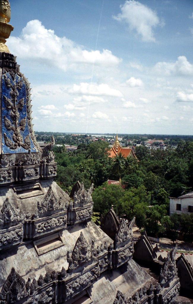 Patuxai Victory Gate Laos Vientiane