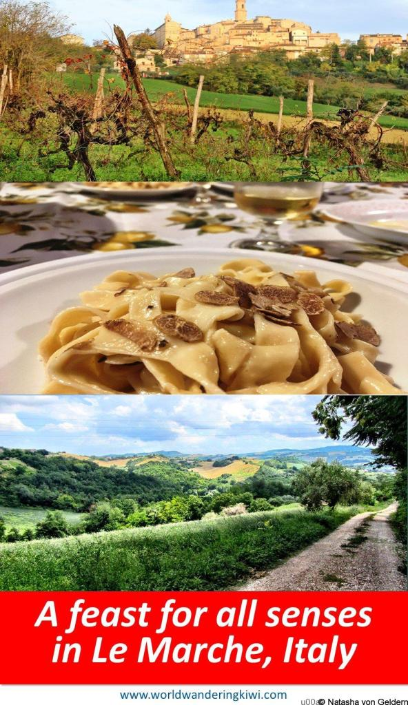 A feast for all the senses in Le Marche Italy