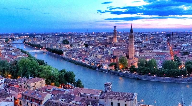Verona from Castel San Pietro