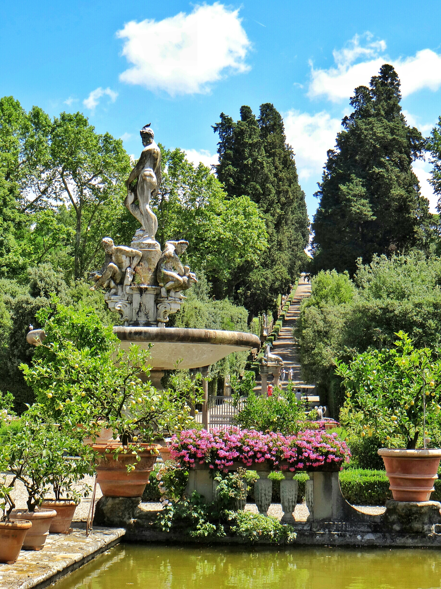 Boboli garden escape the crowds at firenze world wanderista for Giardino di boboli