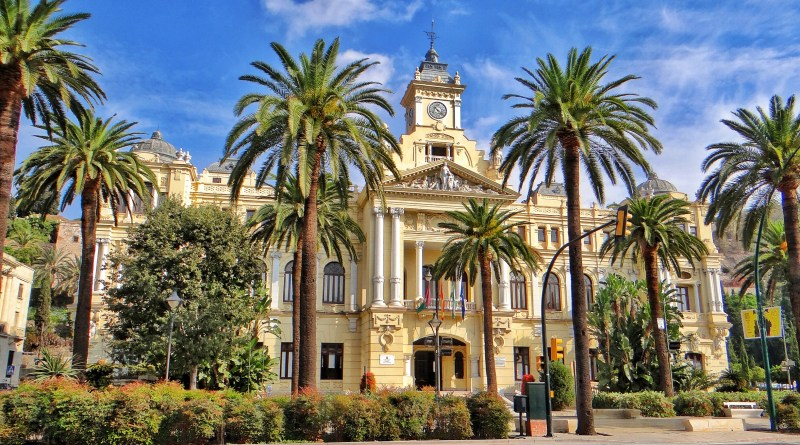 City hall, Malaga