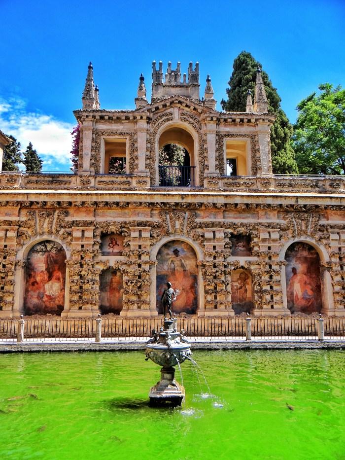 Real Alcazar, garden, Sevilla