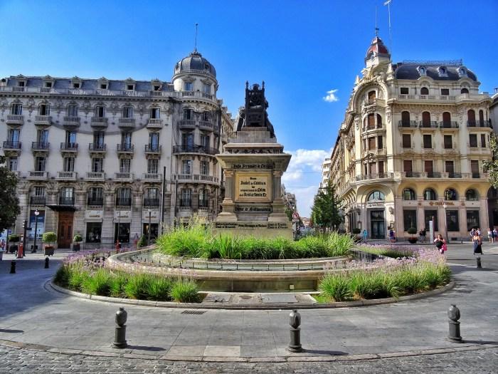 Granada Plaza Isabel La Catolica