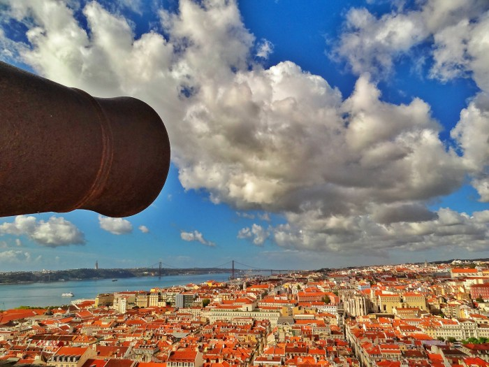 Lisbon view from Castelo de Sao Jorge