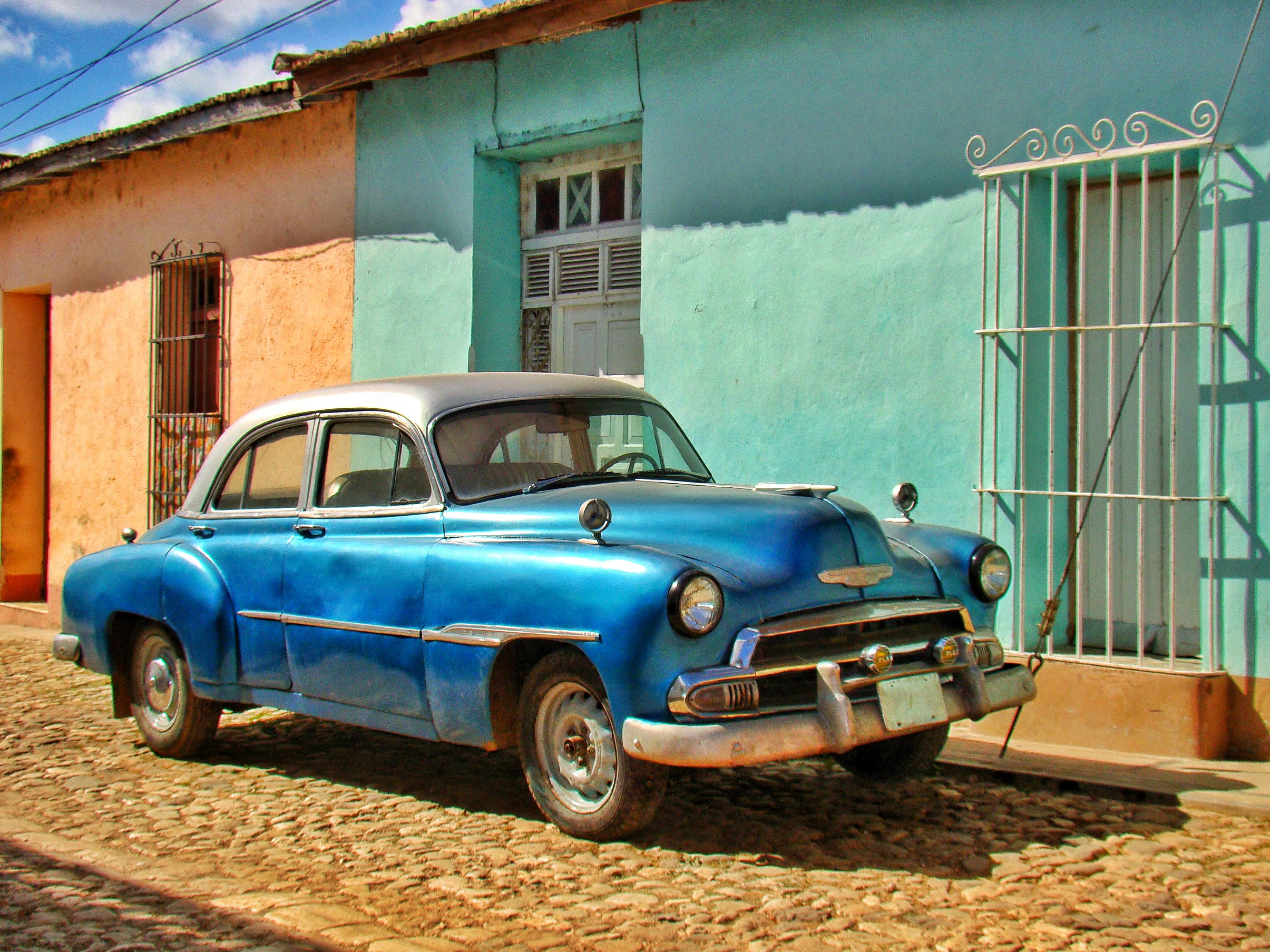 cuba trinidad cars classic cuban spot trip worldwanderista