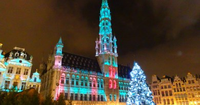 Christmas market Brussels