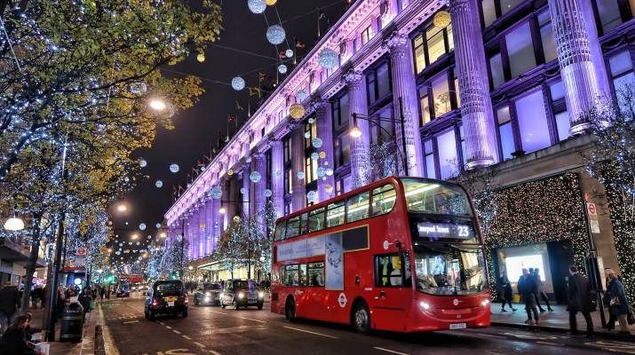 London Oxford Christmas