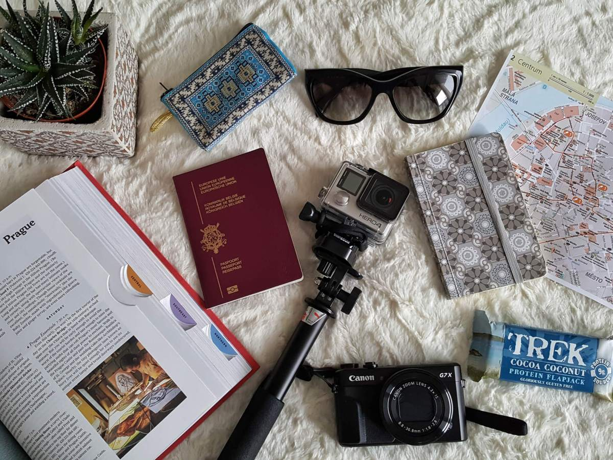 What's in my bag - city trip edition