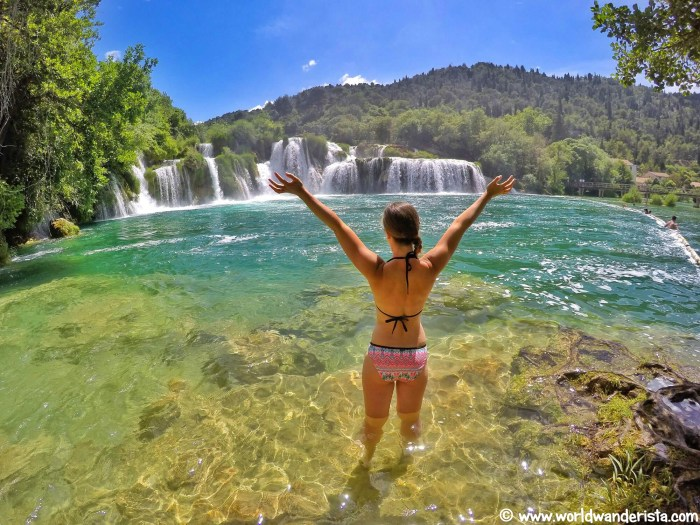 Croatia roadtrip Krka