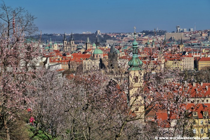 Prague bucket list Petrin Hill