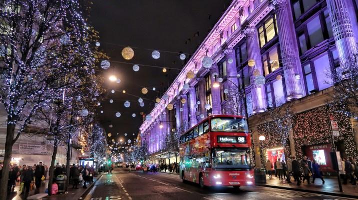 London Christmas Oxford Street 2