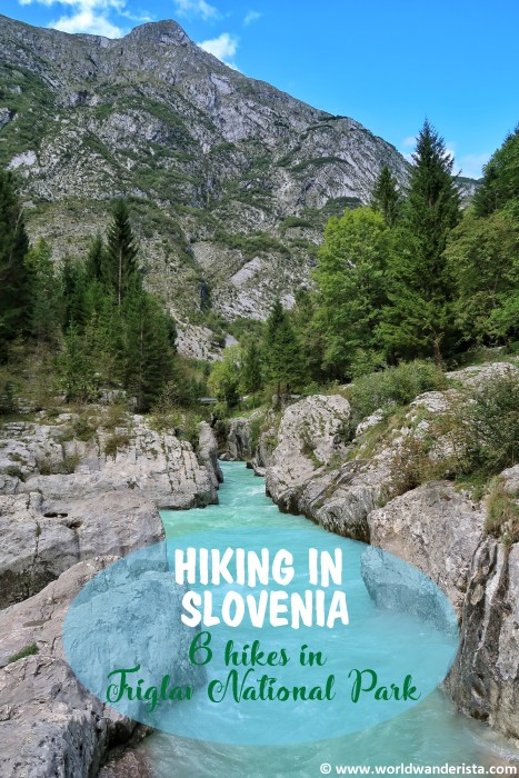 hiking in Slovenia