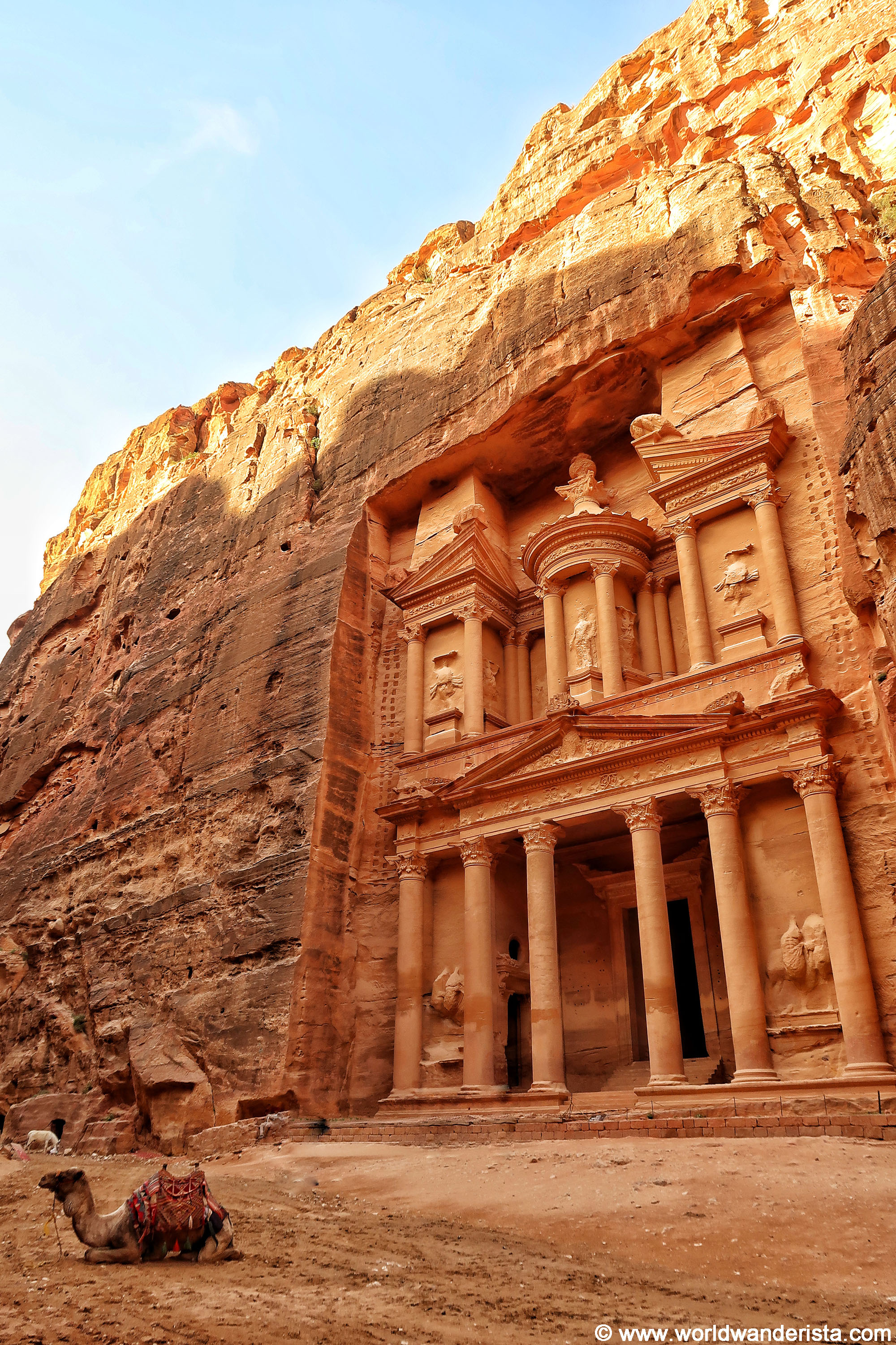 The Best Summer Nail Trends: The Best Views In Petra, The Lost City Of Jordan
