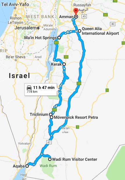 904c5e85c277 Jordan Road Trip Itinerary - WORLD WANDERISTA