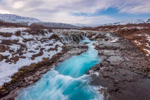 Bruarfoss,Iceland