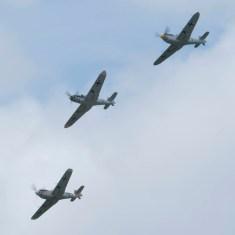 Messerschmitt 109 patrol Flying Legends 2015 - 02