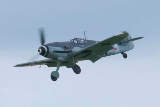 Messerschmitt Bf 109G-4 D-FWME Flying Legends 2015 - 03