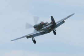North American TF-51 Mustang G-SHWN Flying Legends 2015 - 01