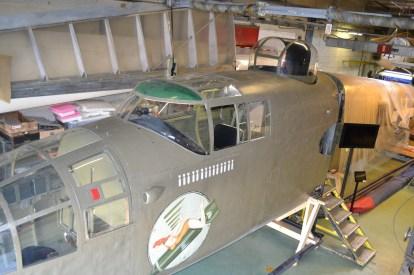 B-25 Michell BAPA dorsal turret (Photo BAPA) 2