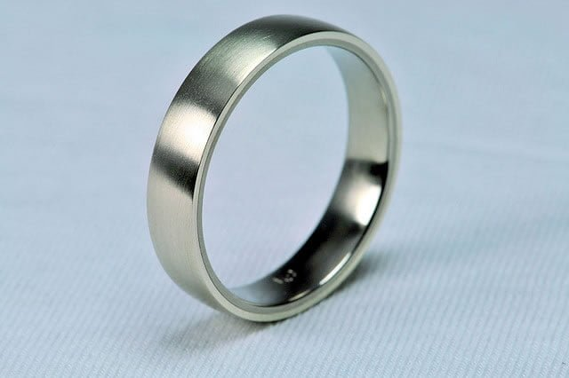 . Women's rings can often be pricier, especially if they have stones in them, so be aware of this when planning.
