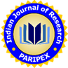 PARIPEX Indian Journal of Research