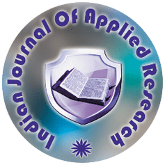 IJAR - Indian Journal of Applied Research