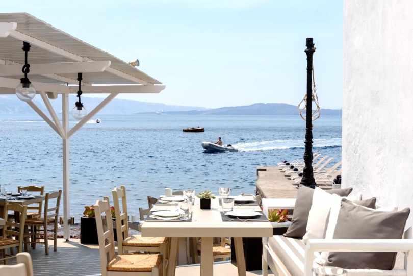 restaurants yacht Mediterranean, Armeni, Santorini 1