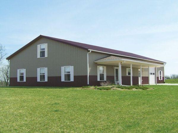 Metal Steel Building as Homes Kits