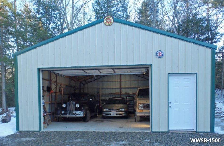 Custom Steel Garage  Workshop Kits  Worldwide Steel Buildings