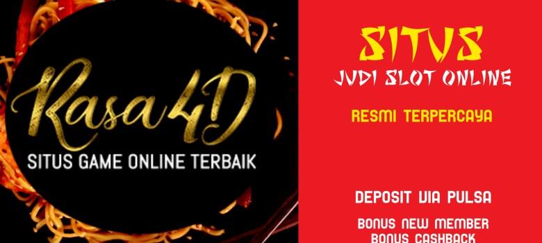 Slot Resmi Via Pulsa Bonus New Member Cashback Terbesar
