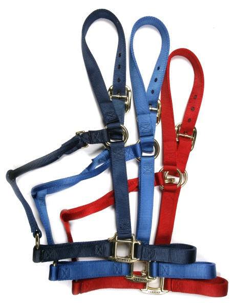 Nylon Halter with clip