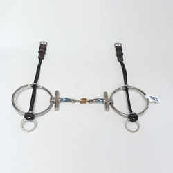 Square Twisted Colin Miles T Bar Big Ring Gag