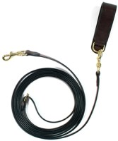 Leather Draw Reins with Girth Loop
