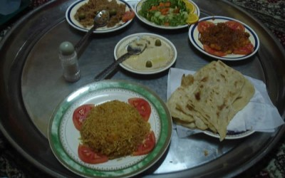 Eating Out in Muscat, Oman