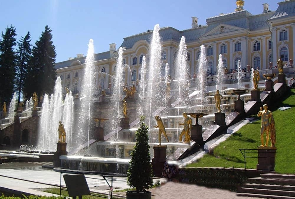 A visit to Peterhof, St Petersburg
