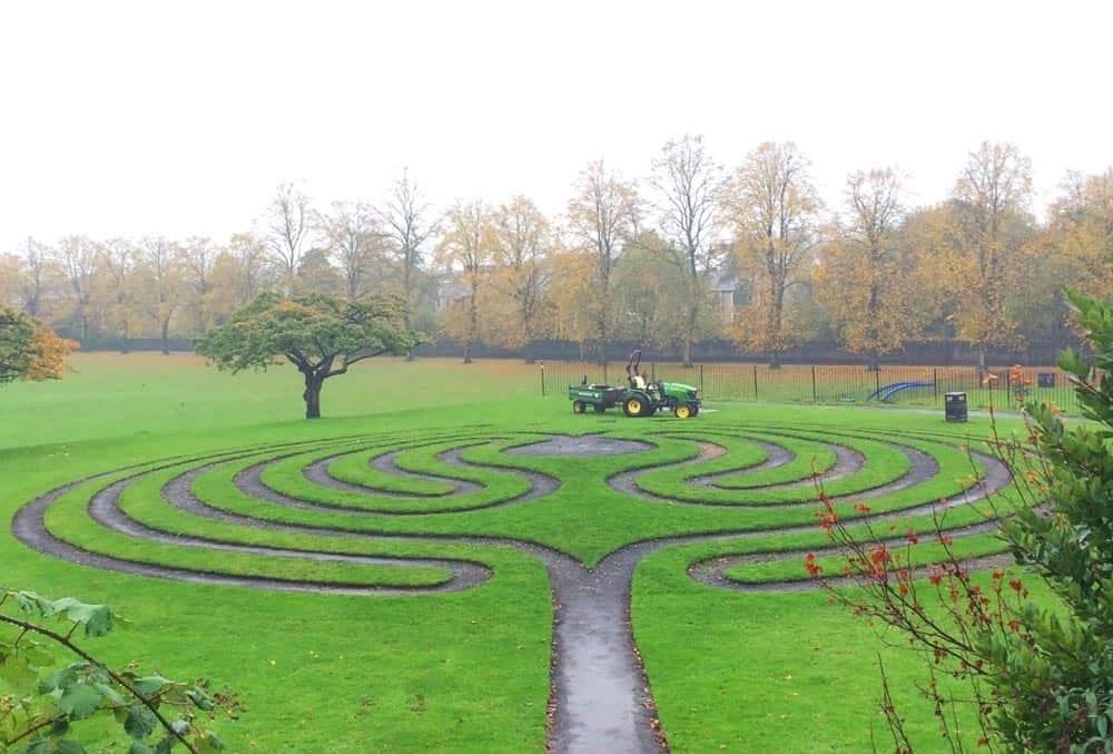 Convex Green, Clitheroe Castle, Lancashire