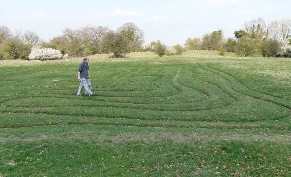 Ancient Mysteries: St Catherine's Hill and Mizmaze, Winchester