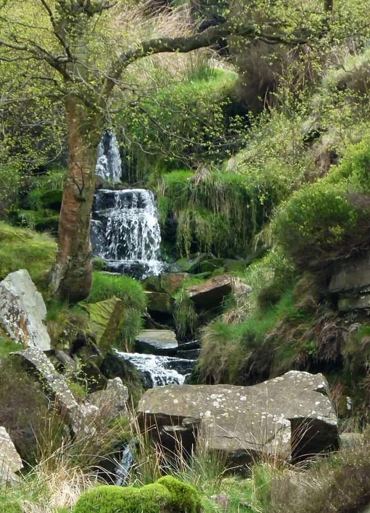Brontë Waterfall, Haworth