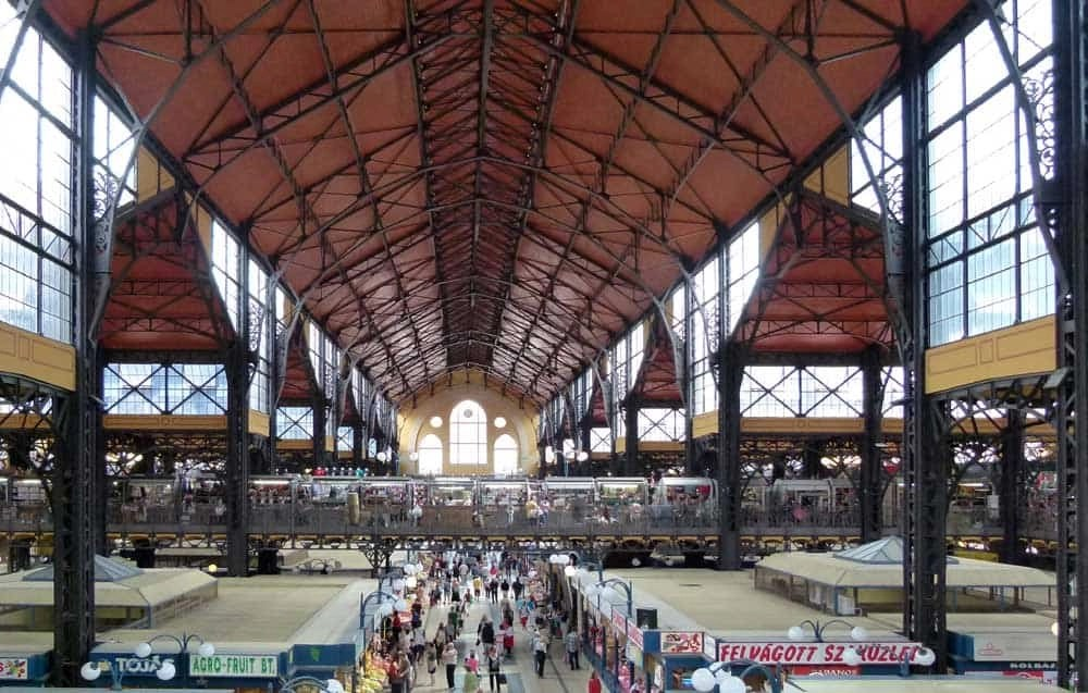 Great Market Hall, Budapest