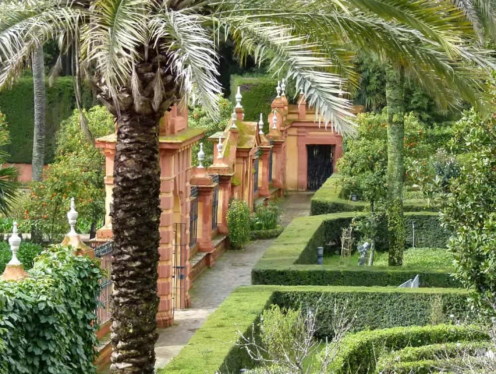 Gardens of the Real Alcazar, Seville