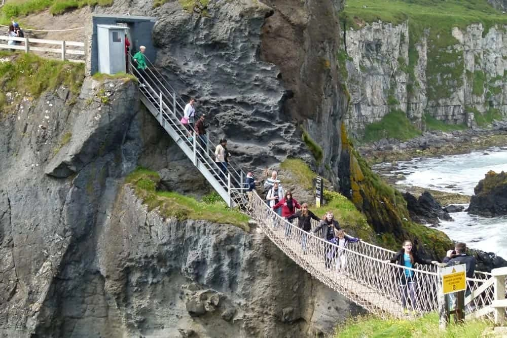 A Wobbly Bridge to Carrick-a-Rede