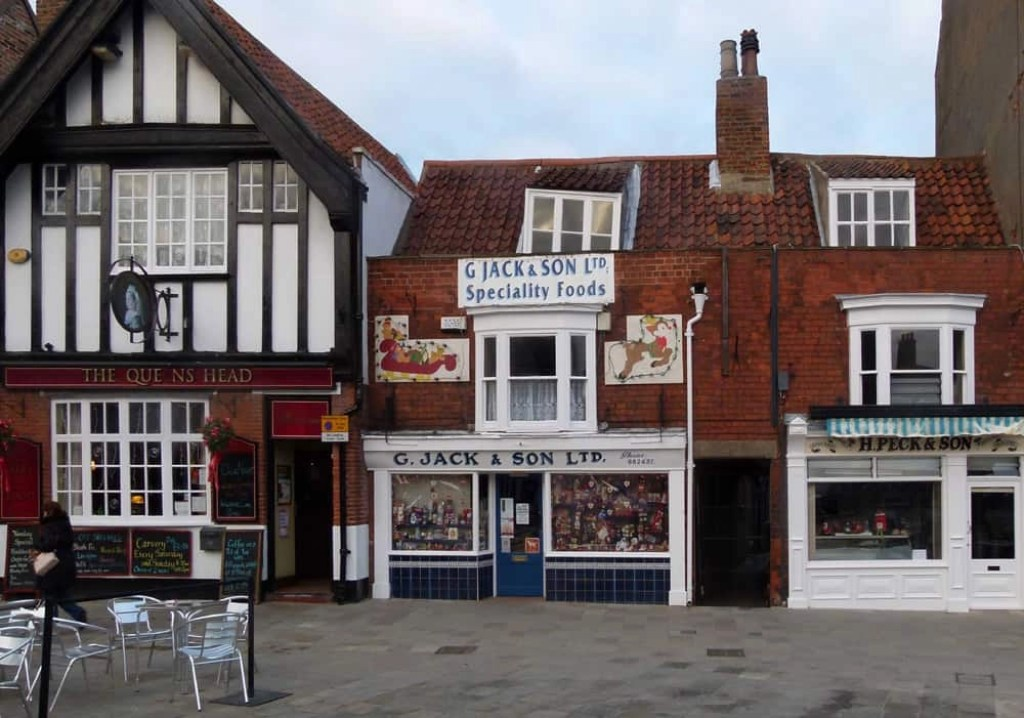 Shops in Beverley, Yorkshire