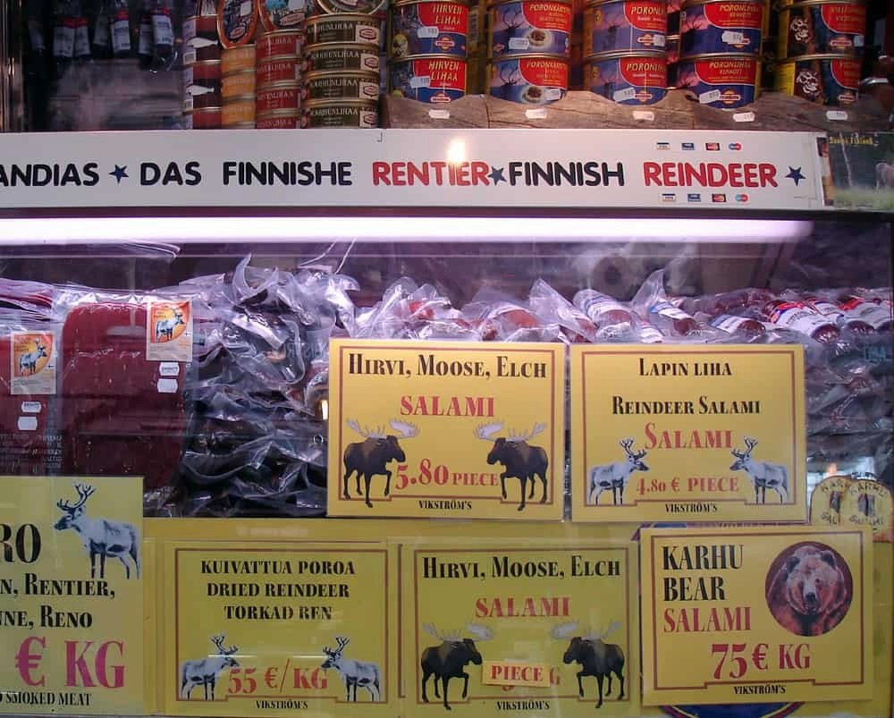 Finnish reindeer products