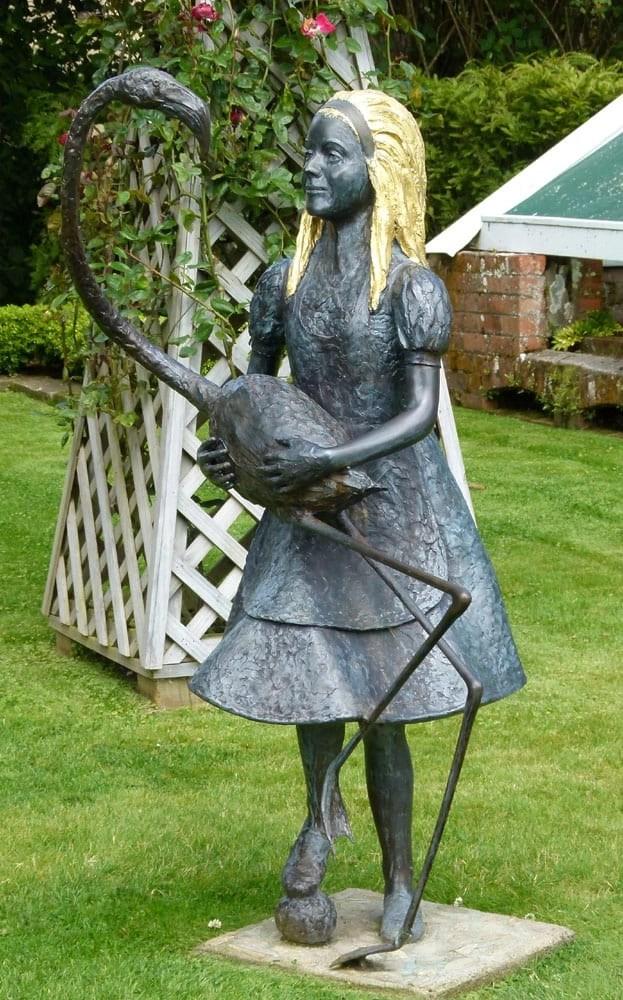 Statue of Alice, Larnach Castle