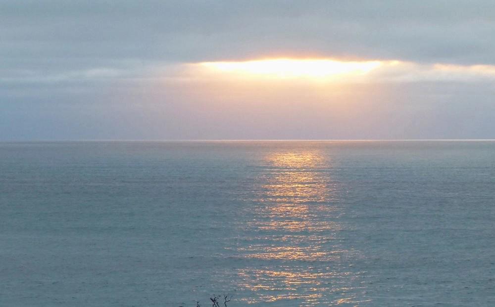 Sunset at Punakaiki