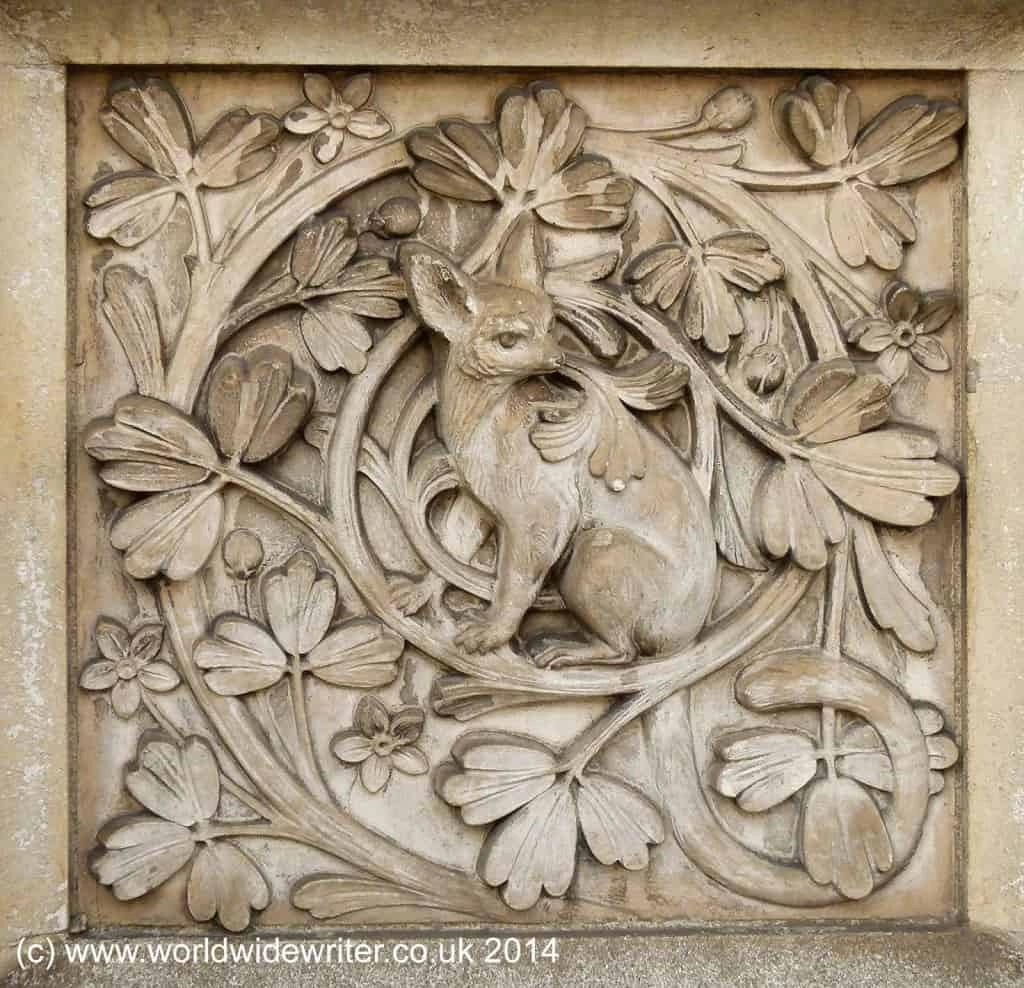 Exterior carving, Natural History Museum, London